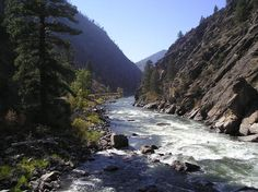 River of No Return Salmon Idaho... just beautiful... wouldn't live anywhere else... miss you