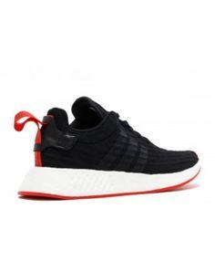buy online 0a18d d42a8 Adidas Nmd R2 Primeknit Core Black Core Black Core Red