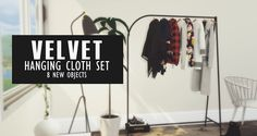 Velvet Hanging Clothes set at Pyszny Design • Sims 4 Updates