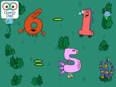 Little Digits basic number app for kids