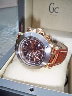 Swiss Guess Collection Watches (Specifically GC-1 Two Tone) - this is the watch Eric wants for our anniversary