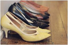 Vintage Shoes - I want them all :)