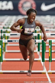 2012 USA Track & Field Olympic Trials: Women's hurdles. Photo © Kevin Morris Photography
