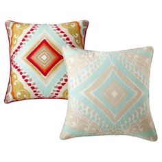 Boho Boutique Utopia pillows - $22.49 for both at Target