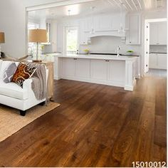 Don't live everyday on a replaceable floor. Walking Horse Plank's solid unfinished hardwood is meant to last for generations, making it the perfect choice for any home. Click through to begin your renovation online from the comfort of your own home.