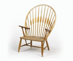 """Hans Wegner """"Peacock Chair""""... it would only be more wonderful if it were a rocking chair."""