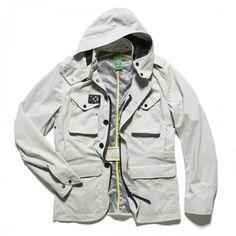 Military Blazer (Inc. Liner MA1111) - Merchant White