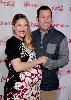 Pin for Later: Best of 2014: les 29 Moments les Plus Mignons du Tapis Rouge Drew Barrymore et Adam Sandler aux CinemaCon Big Screen Achievement Awards