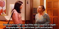 """Live a life worth commenting on 
