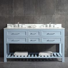 OVE Palm Springs 60 in. Double Vanity