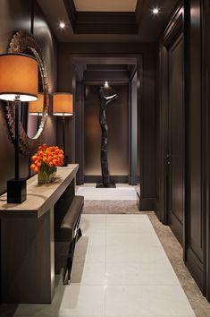 Dark Hallway Design Ideas From Powell Bonnell