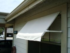 would like to try a diy awning.  I wonder if coating the fabric with wood rot epoxy to keep it from mildew