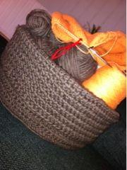 Easy Peasy Crochet Basket