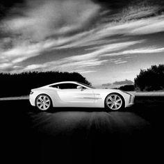 Elegant Aston Martin One-77- Black and White!