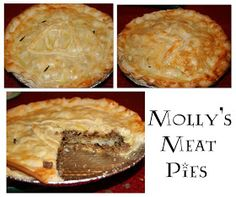 Molly's Magical Meat Pie   ½ pound ground sausage (we like spicy to add more flavor)  ½ pound ground beef  2 t minced garlic  2 t all spice (or nutmeg if you don't have it)  2 t dried parsley (or Italian seasoning)  1 teaspoon paprika (optional)  2-3 T dried minced onion  2 tablespoons all-purpose flour  1 1/2 cups beef broth  1 cup cubed cooked potatoes (We just use frozen hashbrowns, but you can cube and cook your own. . . obviously [that sounds like Snape].)  Salt and pepper to taste