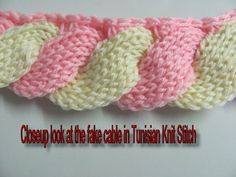 new tunisian samples ~ no patterns here, just lovely inspirations