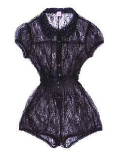 Fifi Chachnil lace playsuit