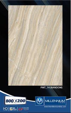 Millennium Tiles 800x1200mm (32x48) PGVT Porcelain Matt XXL Floor Tiles Series  - PMT_14