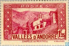 Andorra - French - Landscapes 1932