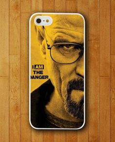 http://www.myicover.nl Breaking Bad I Am The Danger Face Design Cover iPhone Skin Protector for iPhone 4 4S 5 5S 5C #iphone cover