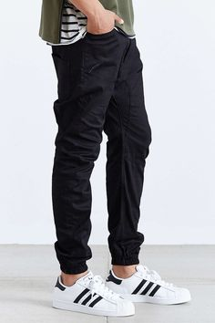 I can tell that I've looked at too much fashion when these jogger pants start to actually look good.  The chino colored ones would be interesting when worn with otherwise sharp casual attire.