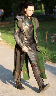 Hello Loki. Mind if I take a stroll with you?