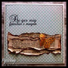 du ger mig fjärilar i magen  http://blog.pysseldags.com/ http://shop.pysseldags.se