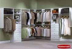 Rubbermaid Closet System. Superior Corp of IL is an Authorized Rubbermaid Closet Dealer. Check out more of Rubbermaid Closet Systems at www.superiorcorp.net
