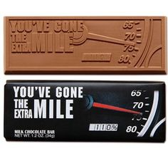You\'ve Gone the Extra Mile 2x 5 Chocolate Bar
