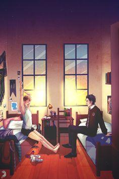 Simon & Baz Watford's bedroom