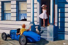 Quand Tintin rencontre