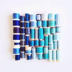 "Caroline South 🌿💕 su Instagram: ""#cottonsorganizedneatly { ii }"" #colors"