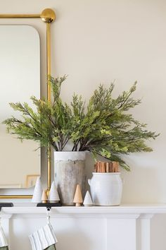FAUX CYPRESS STEM