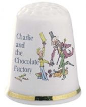 Roald Dahl Charlie and the Chocolate Factory Thimble