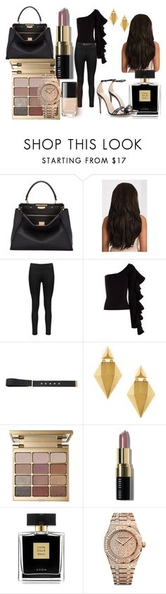 """Untitled #816"" by irelandprep ❤ liked on Polyvore featuring Fendi, Beaufille, TIBI, Stephanie Kantis, Stila, Bobbi Brown Cosmetics, Avon, Audemars Piguet and Gucci"