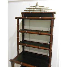 estanteria falos bambu chinoiserie vintage a la venta en La Josa Vintage Antiques
