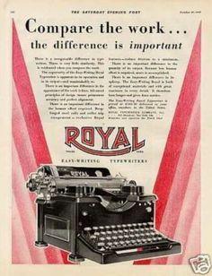 Royal Typewriter (1928)Royal . Las máquinas de escribir Royal resultaron ser increíblemente populares y, con el fin de cumplir con la demanda, la compañía pronto se trasladaría a un local más grande en Hartford, Connecticut. Aquí, se seguirían produciendo sus máquinas de escribir hasta bien entrada la segunda mitad del siglo XX.