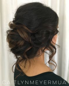 Really loving the way this loose, romantic, 'undone' style from today's bridal trial came together! Looking forward to sharing the entire look on the big day ❤️ #bridalhair #southasianbride #looseupdo #romanticupdo #bohobride #undoingtheupdo