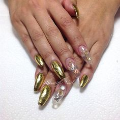 24k GOLD NAILS #gold #nails #nailcare #nailartclub #nailartheaven #nailartaddict #nailartjunkie #nailvarnish #foil  #nail #naildesigns #rhinarifficnails #essielook #nailsmagazine #nailpro #nailvixen #nailtech #instanails #fashion #pfpnails #nailsmakeus #manicure #notd #nailfeature #nailart #fantasynails #style #funkynail A $20 deposit is required to secure your appointment. #Padgram
