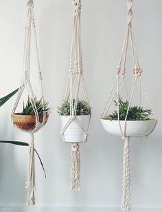 Macrame Plant Hanger от IsabelsDesignStudio на Etsy