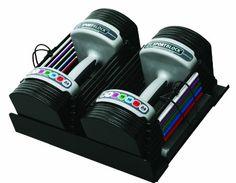 PowerBlock SportBlock 2.4 Adjustable 3 to 24-Pounds per Dumbbell Set