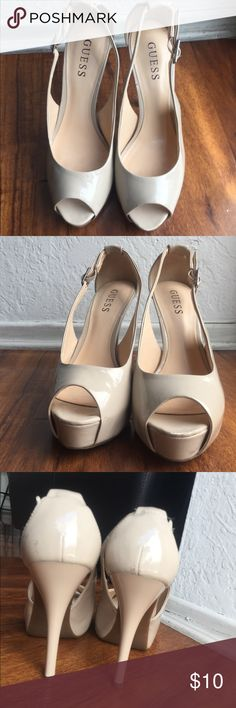 Nude Guess Guess shoes nude color size 7 Guess Shoes Heels