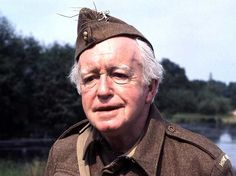 † Arnold Ridley (January 1896 - March British stagewriter and actor, o. known from the comedyseries of Dad's Army. Great Comedies, Classic Comedies, Bbc Tv Series, Comedy Series, British Comedy, British Actors, Dad's Army, Comedy Actors, Humor