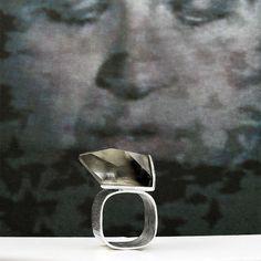 Brookite + Sterling Silver Ring || Mariella Pilato