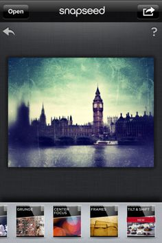 Snapseed... photo editing app for iphone