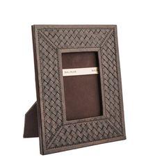 Richmond Photo frame, dark brown Dark Brown, Frame, Leather, Inspiration, Collection, Ideas, Home Decor, Picture Frame, Biblical Inspiration