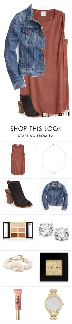 """boy probs//rtd"" by hgw8503 ❤ liked on Polyvore featuring Shop Latitude Bazaar, Lucky Brand, J.Crew, tarte, Bobbi Brown Cosmetics, Too Faced Cosmetics, Kate Spade and Benefit"