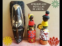 AFRICANA CON ENVASES RECICLADOS / African with recycled packaging - YouTube