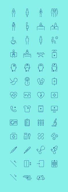 Web Design Freebies — In The Hospital - Free Icon Set Icon Design, Web Design, Logo Design, Flat Design, Wc Symbol, Wc Icon, Icons Web, Flat Icons, Hospital Icon