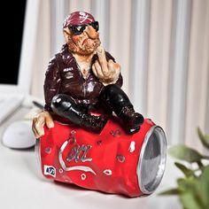 Cola Üstünde Motorcu